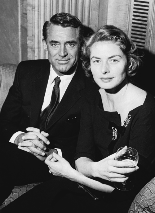 """I was very fond of Ingrid. She was an amazing woman. She was one of the world's most talented women, completely secure and happy."" - Cary Grant"