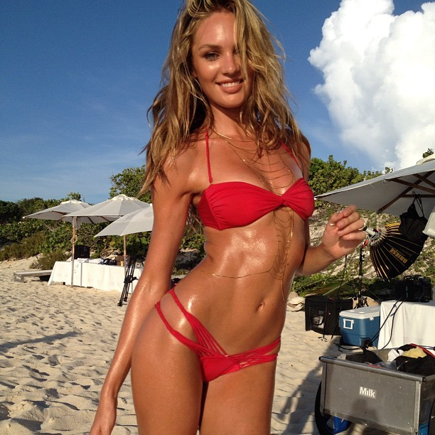 candice … hotttttest thing in the world.