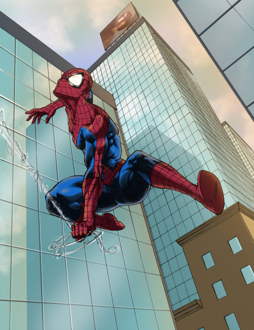 The Amazing Spider-Man - Classic - Colored by *pureluck13 —-x—- More: | Spiderman | Random |