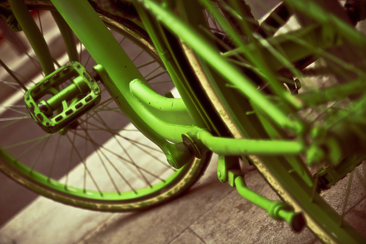 Colorful Bikes: #Green. 11/10/2012