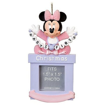 My first Christmas Minnie ornament!