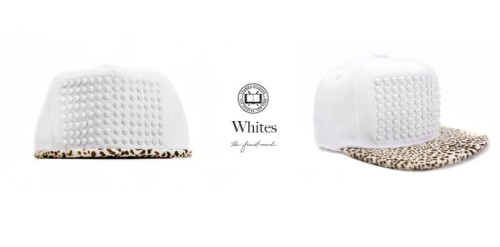 @Chris_Stamp All White Pony Hair Studded Hat available tomorrow here.