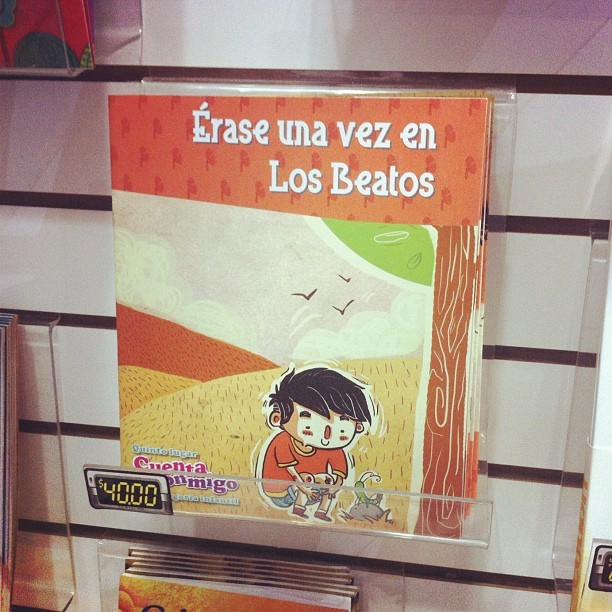 Que chido se siente ver publicado tu trabajo :) #book #kids #instagood #ilustrations #cool #color #mty #mextagram #creative #draw #cuentos  (Taken with Instagram)