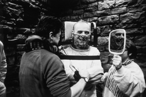 Darkly Funny, Behind-the-Scenes Photos from 'Silence of the Lambs'
