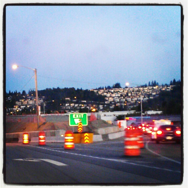#earlymorning #traffic  (Taken with Instagram)