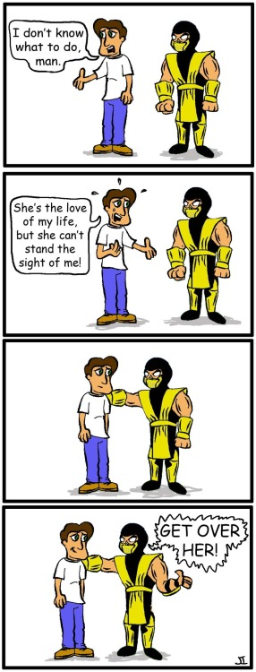 Scorpion Gives Some Advice