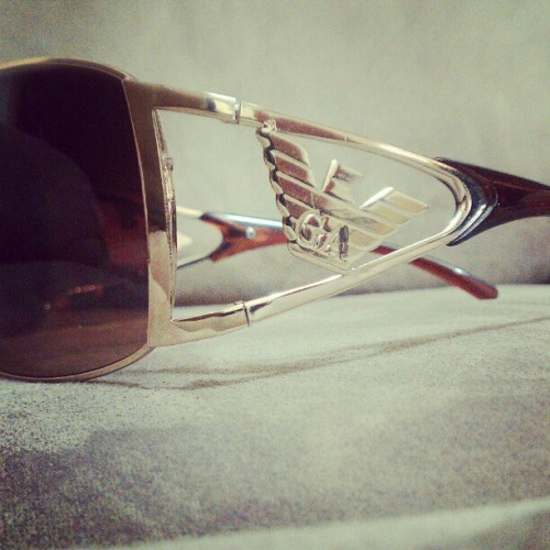 The only brand I trust in #Armani #GA (Taken with Instagram)