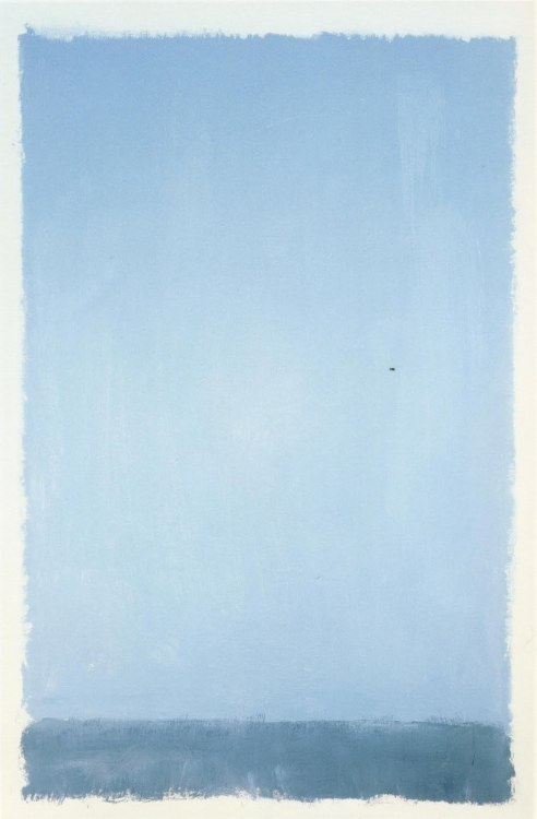 rainynocturne:  Mark Rothko, 1969.