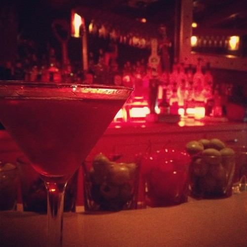 Birthday stop #2: Manhattans and meat at the Tornado Room. (Taken with Instagram at Tornado Room Steakhouse)