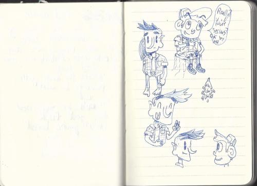 andpan:  last one: some doodles of my homies salvador and joe  I don't know you but I'm in love with your art