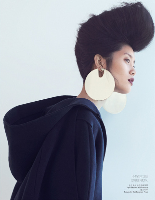 Andrew Yee captures a sublime new story for Vogue China with Ford models Ming Xi & Antonia Wesseloh.