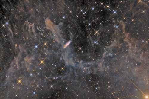 star dust!  Galaxies, Stars, and Dust Image Credit & Copyright: Ignacio de la Cueva Torregrosa (Capturandoeluniverso, A.A.E.)