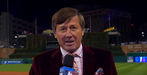 MLB ALCS Game 3 - Yankees @ Tigers Craig Sager pre-game report