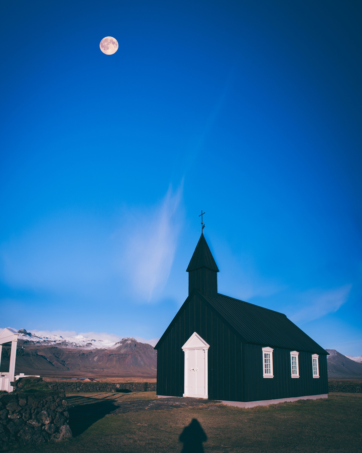 Black Church Iceland October 2010