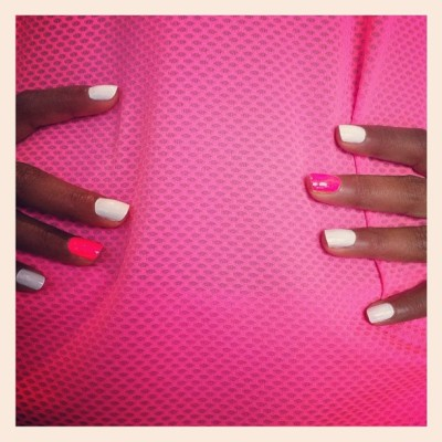 Sporty Spice #nailinghollywood  (Taken with Instagram)