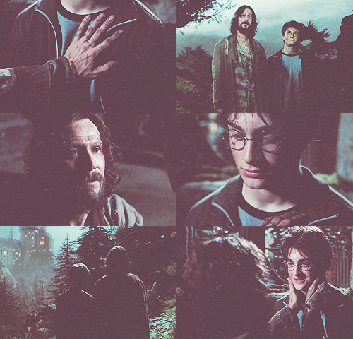 "{THE MAGIC BEGINS} Favorite Scene ""When you were born, James and Lily made me your godfather.."""