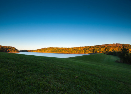 Wassel Reservoir at Sunset by Patrick Turek on Flickr.