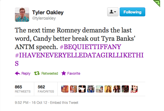 tyleroakley:  starkid-paige:  Tyler Oakley for President.  Why are you all not tweeting along with me?