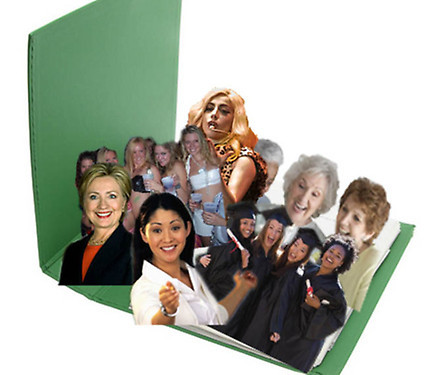 buzzfeed:  Official White House Press Corps photo of Mitt Romney's binder of women.
