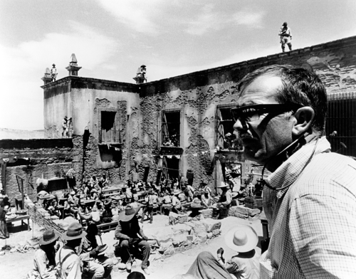 Sam Peckinpah filming The Wild Bunch