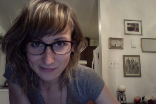 "I recently got my first pair of glasses. They are just for reading or up close work, so most people will never see me wear them. I'm digging them though, because my eyes feel so relaxed when I am reading.   Jordan said, ""We really are growing old together, aren't we?"" when I got them, so that's something. (Something pretty funny.) Anyways, just thought I would share the photo for my loved ones.   Happy Tuesday evening, friends. Grab a hot drink and a book, why don't you? That's what I am doing!"