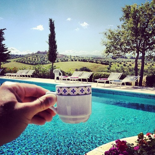 richkidsofinstagram:  Me now. Yes please. Cheers to the backyard. by davidkatzenberg