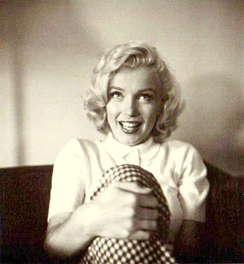 perfectlymarilynmonroe:  Marilyn photographed by John Vachon, August 1953.