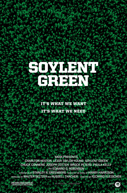 Soylent Green by Robert Armstrong