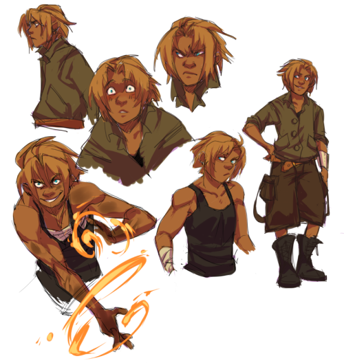 some Juno sketches—trying to loosen up a bit lately @^@