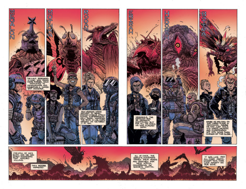 orcstain:  8 page preview of Godzilla: The Half-Century War #3 up on TokuNation http://www.tokunation.com/showthread.php?p=61277