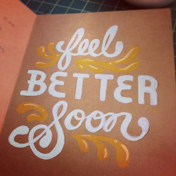 Card for my Uncle  (Taken with Instagram)