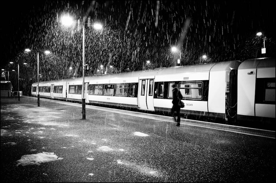"(vía 500px / Photo ""Snowy Journey"" by Sven Loach)"