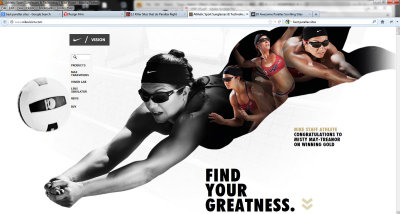 love parallax sites. here's one from @nike f/ @MistyMayTreanor