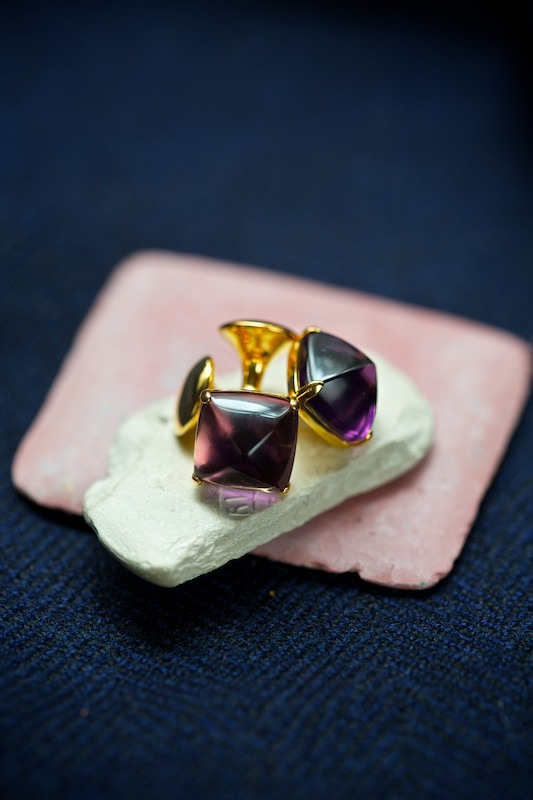 Tourmaline Cufflinks by The Armoury Shop