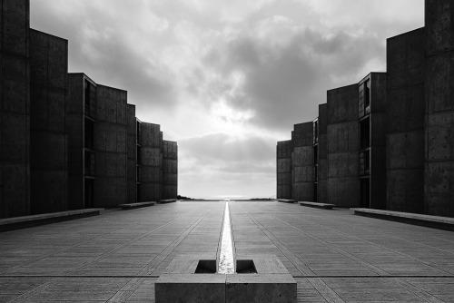 Salk Institute, Louis Kahn, La Jolla, California, 1965 — Balthazar Korab