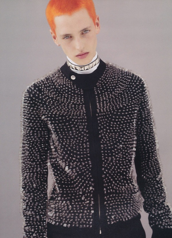 efedra:  Rutger Derksen by Karim Sadli for Dazed & Confused #68, December 2008