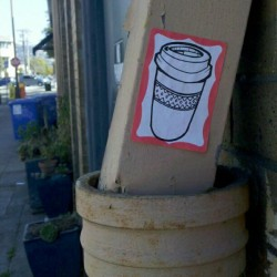 OHIO Sticker - Berkeley, CA - #sticker #berkeleyStickers #westCoastStickers #coffeeSticker #ohioSticker (Taken with Instagram)