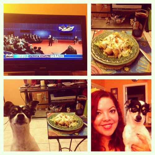 Debate N Dinner W El Bandit (Taken with Instagram)