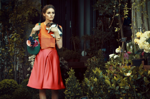 journaldelamode:  Olivia Palermo for Tatler Russia August 2012 by Santiago Esteban