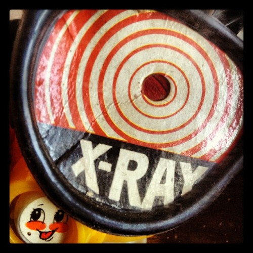 Love X-RAY workman:  X-Ray Gogs (Taken with Instagram at Bishop Fink)