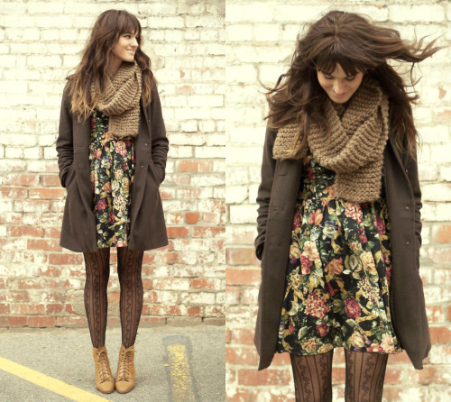 lookbookdotnu:  Fall Florals (by Tonya S.)