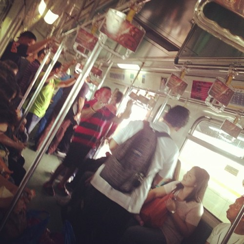 LRT life #lrt #igersmanila #manila (Taken with Instagram)