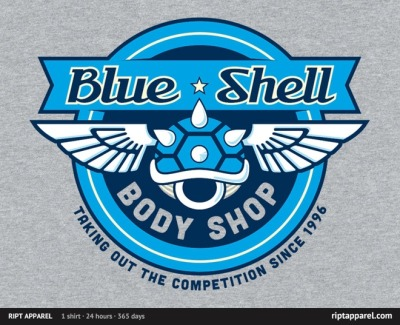 gamefreaksnz:  Blue Shell Auto Body by robert.pufahl USD$10 for 24 hours only