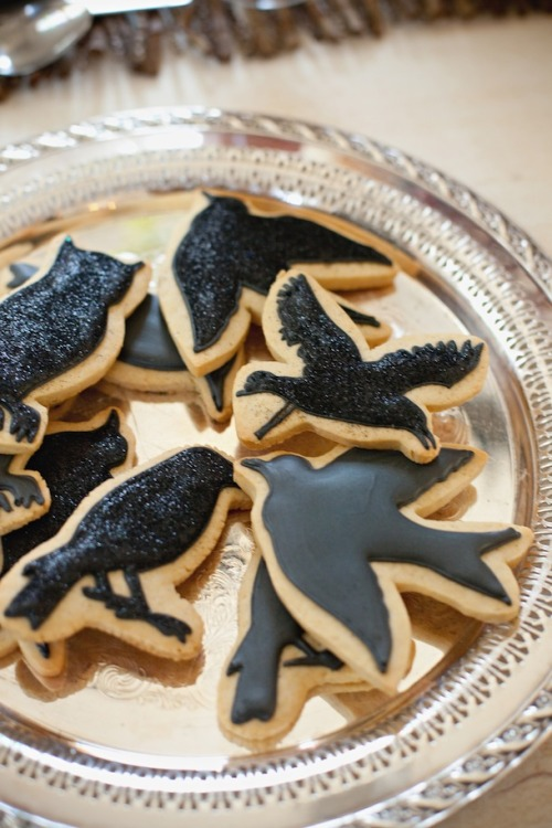 'The Birds' cookies from Camille Styles.