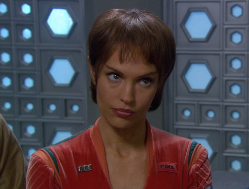 """There are time when modesty and humility are quite illogical."" - T'pol"