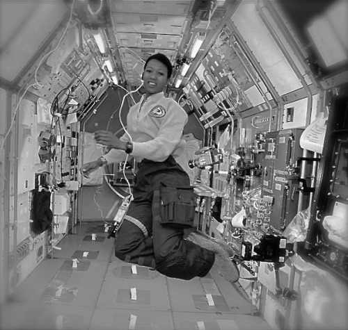 cartermagazine:  Today In History 'Dr. Mae C. Jemison, the first Black woman to travel in space, was born in Decatur, AL, on this October 17, 1956.' (photo: Dr. Mae C. Jemison) - CARTER Magazine