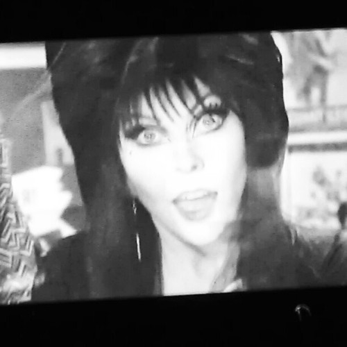 Watching Elvira (Taken with Instagram)