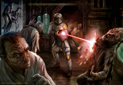 Boba Fett vs. Zombies