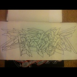 #outline #marker #name #maria #art #blackbook #graffiti #self #expression #facebook #twitter #instagram #tumblr #follow #followme  (Taken with Instagram)
