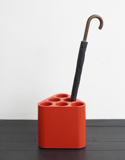 jessicasignellknutsson:  Poppins, umbrella stand, by Edward Barber and Jay Osgerby for Magis.